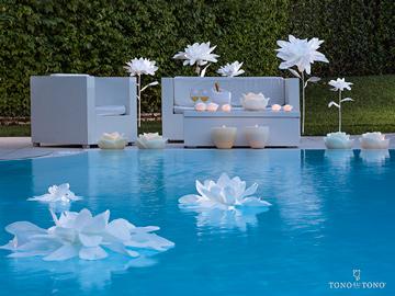 Maxi fiori bianchi