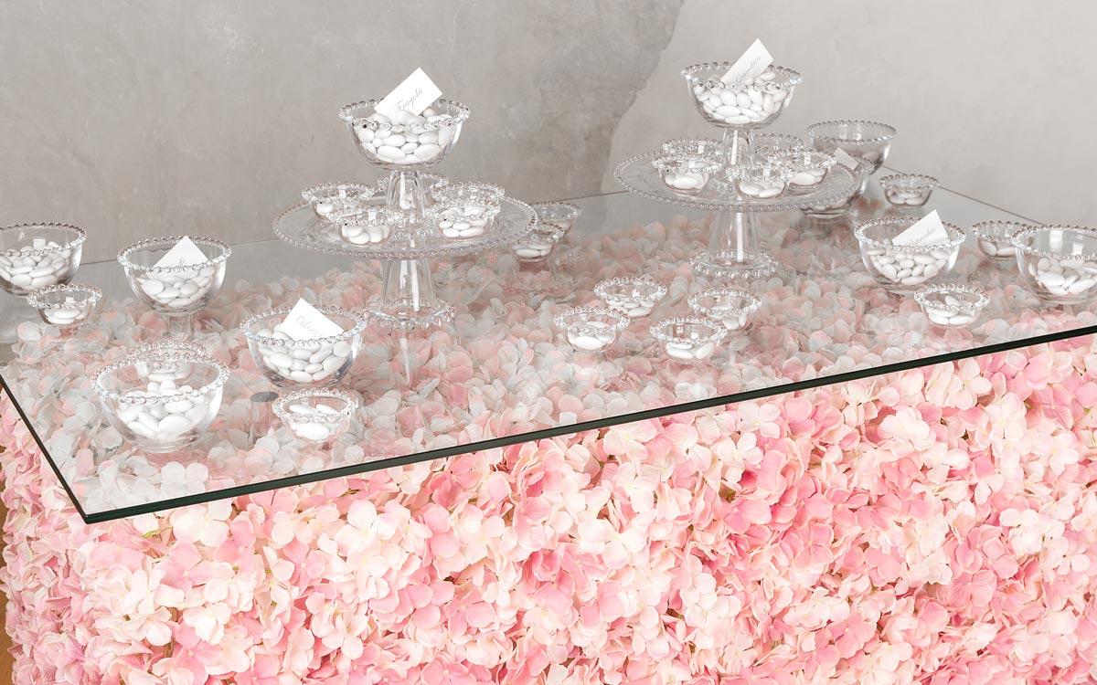 Romantic Wedding Sugared Almond Buffet