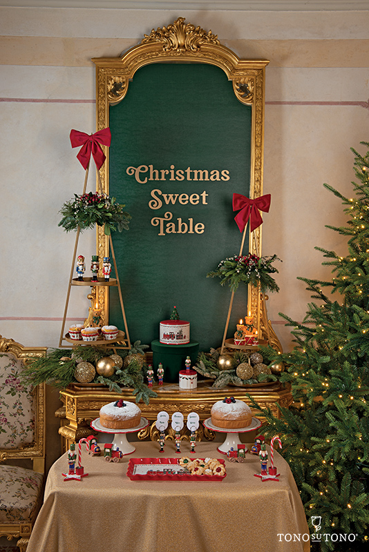 Christmas Sweet Table