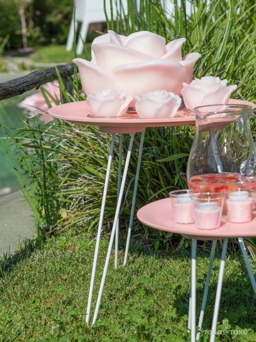 Tavolino rosa