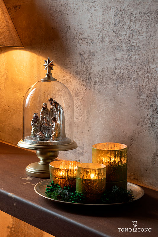 An elegant nativity scene