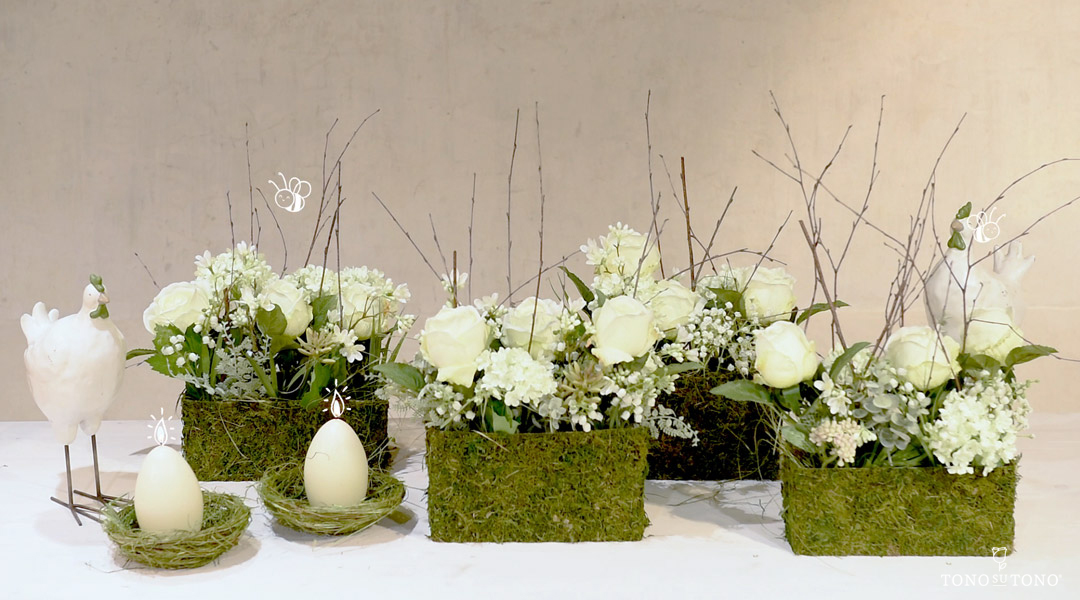 Floral table decoration
