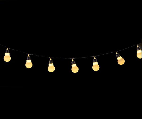FILO 10 LAMPADINE ø 50