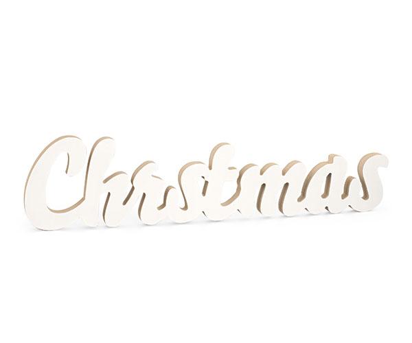 SCRITTA CHRISTMAS MDF