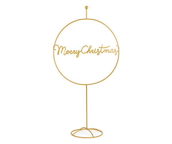 "DISPLAY ""MERRY CHRISTMAS"" ORO"