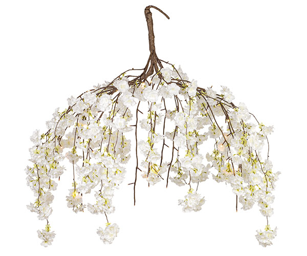 LAMP.FIORI PESCO BIANCHI 72LED