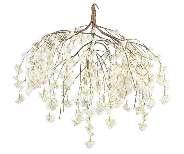 LAMP.FIORI PESCO BIANC0 144LED