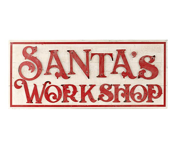 "QUADRO ""SANTA'S WORKSHOP"""