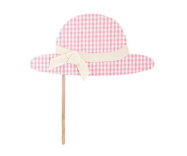 CAPPELLO BABY SHOWER ROSA STICK