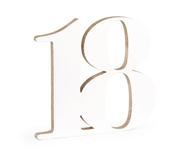 18 LEGNO BIANCO/GLITTER CHAMP.
