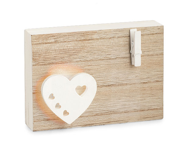 NOTES CUORE CON LED CON SHOPPER BOX CON 71670D