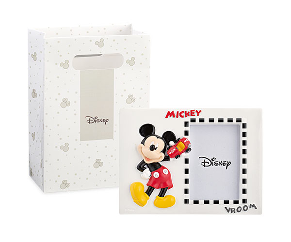 PORTAFOTO MICKEY CON SHOPPER BOX