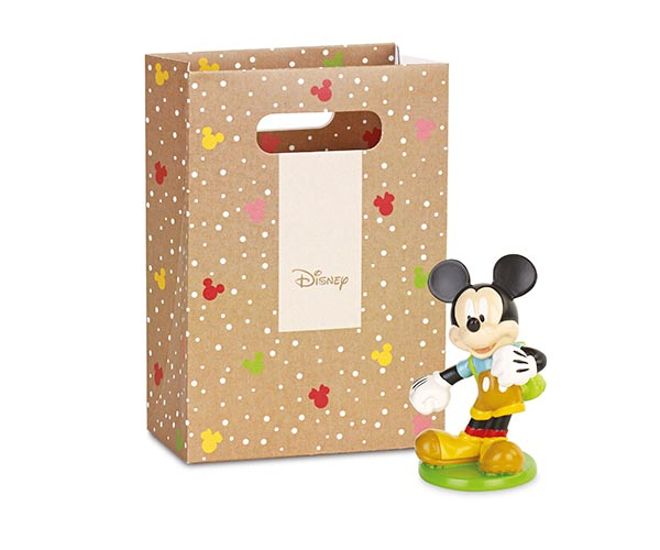 MICKEY CON ZAINO CON SHOPPER BOX