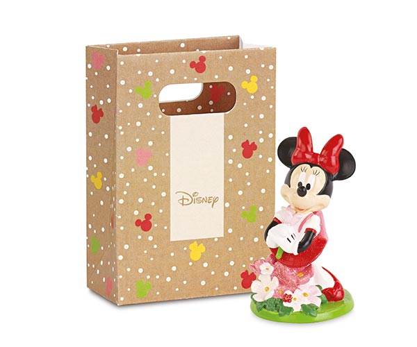 MINNIE CON FIORI CON SHOPPER BOX