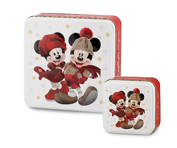 SET 2 SCATOLE LATTA MICKEY&MINNIE
